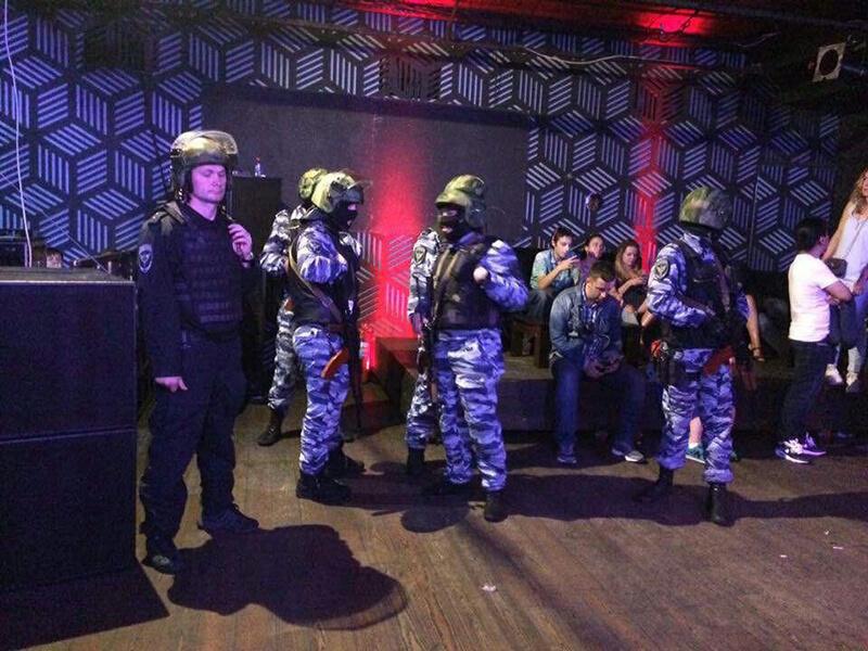Полицейский рейд в НК Конструктор