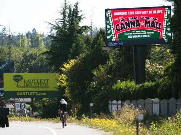 Универмаг марихуаны в Канаде