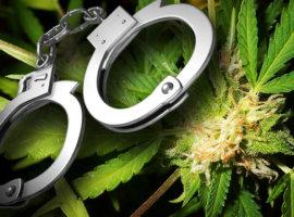 Арест за марихуану