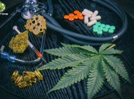 Листья марихуаны с высоким ТГК