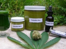 Продукция из марихуаны