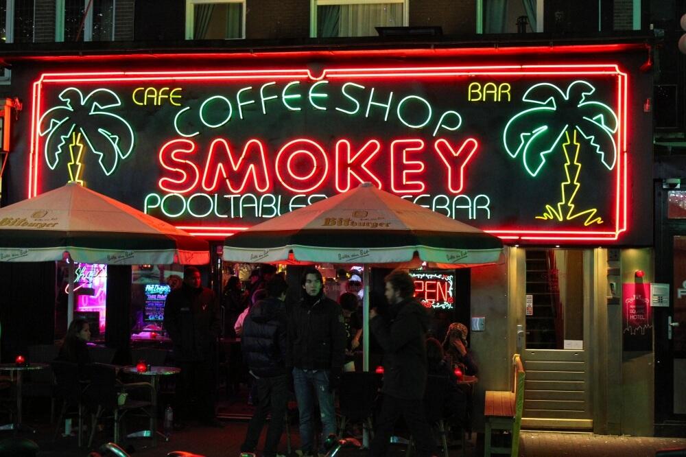 Кофе-шоп с марихуаной
