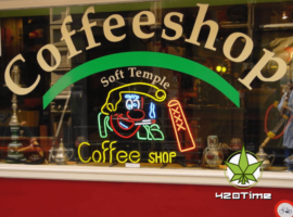 Кофе-шоп в Амстердаме