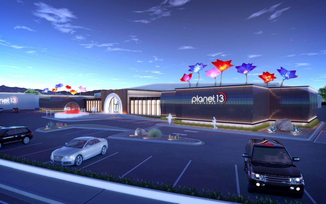 Planet 13 — первый супер маркет с каннабисом