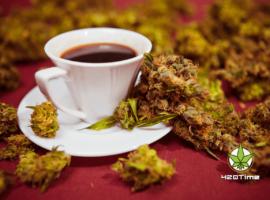 Кофе и травка вредят здоровью