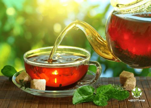 Чай в бонге