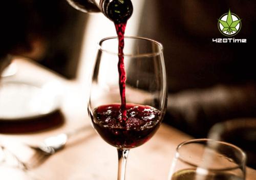 Вино в бонге