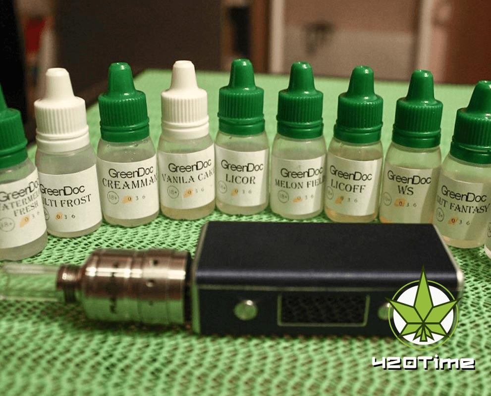 Преимущества жидкости для вейпов с марихуаной