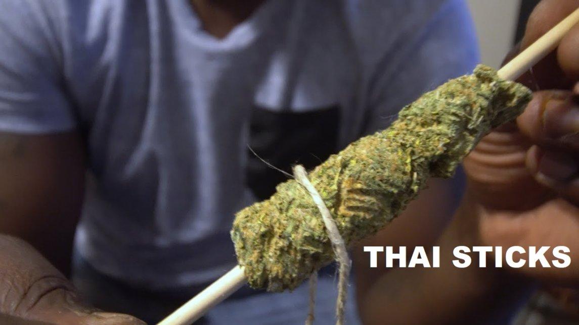 Тайские палочки из конопли