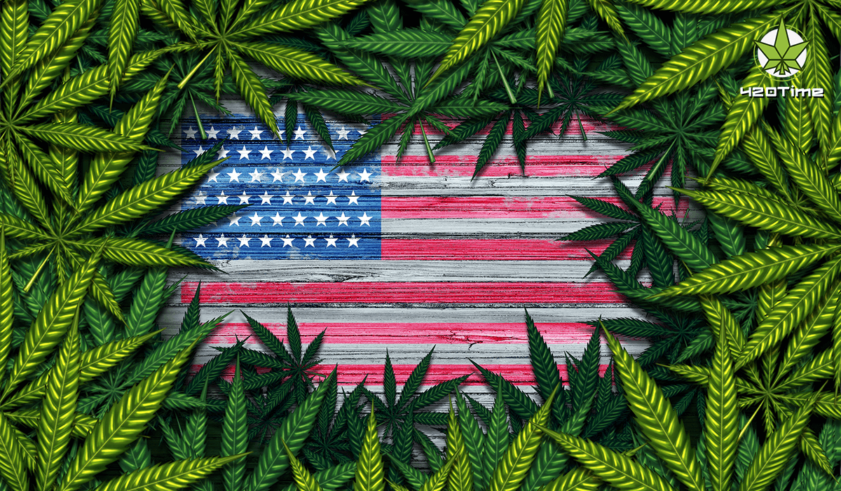Результаты опроса в Америке о декриминализации наркотиков - более половины граждан за