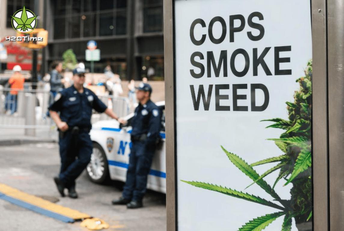 Декриминализация конопли имеет последствия в изменения работы полицейских Америки
