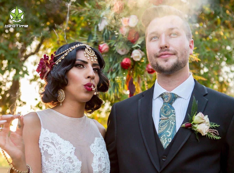 Как провести марихуановую свадьбу