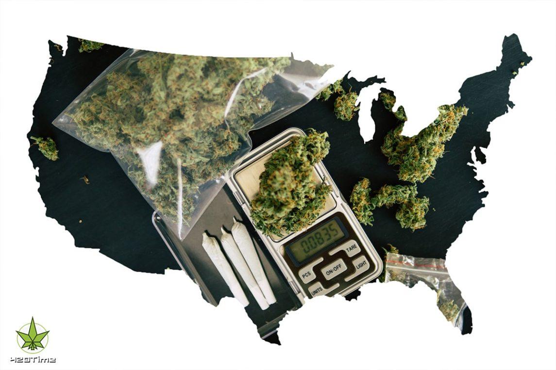 Проблема черного рынка марихуаны в США