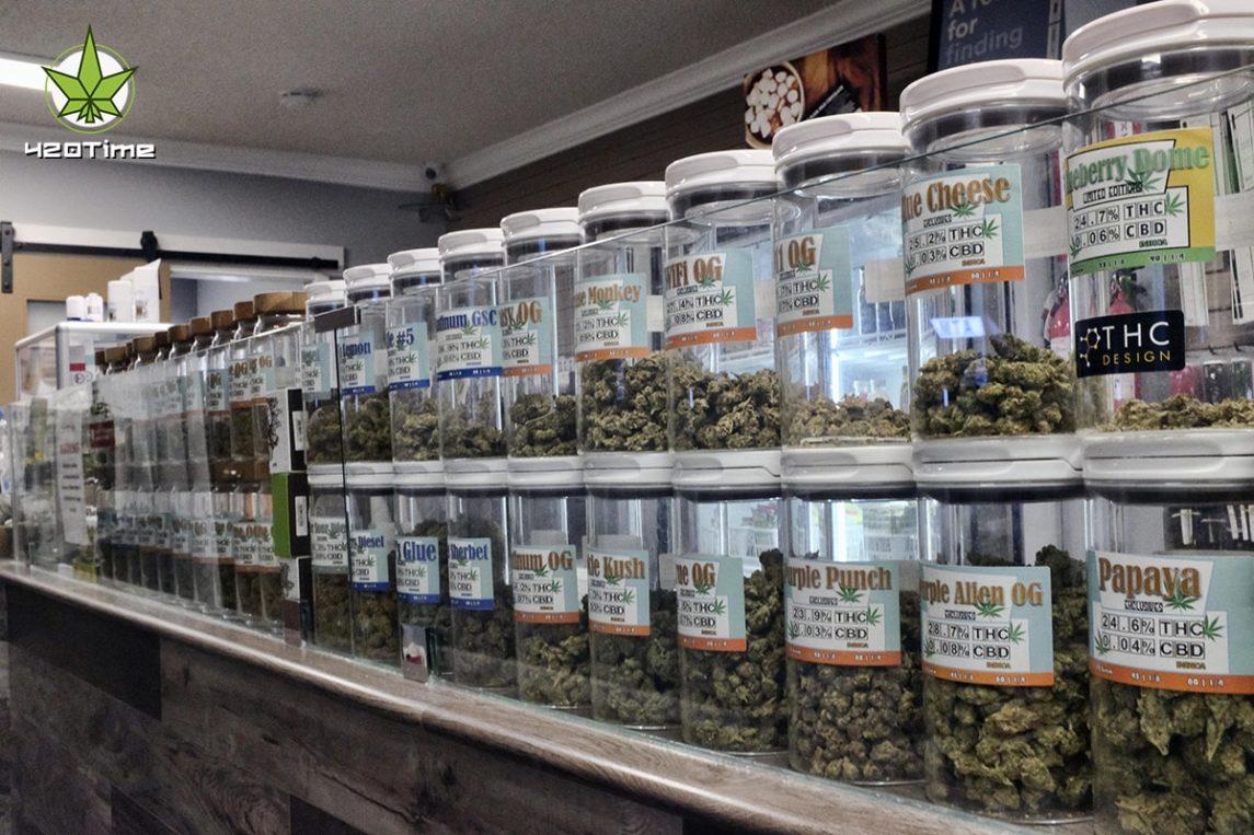 Продажи медицинской марихуаны