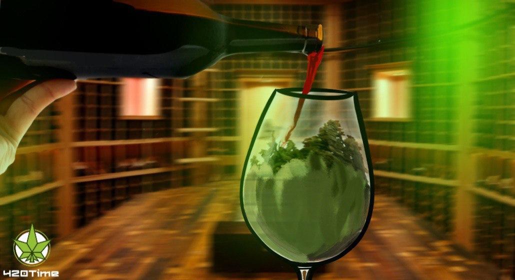 рецепт вина с марихуаной
